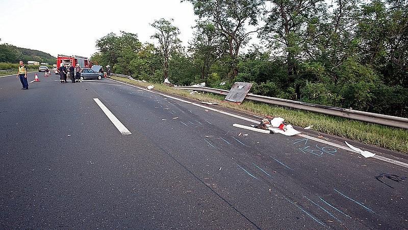Halálos baleset miatt lezárták az M3-ast (frissített)