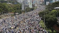 Rekordméretű visszaesés volt tavaly Venezuelában