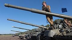 Kiújultak a tüzérségi harcok Ukrajnában
