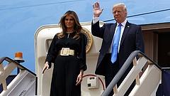 Trump pórul járt Koreában