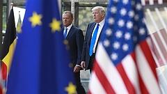 Erre jutott egymással Tusk és Trump