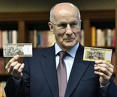 Készpénzcsere - felhívást tett közzé az MNB