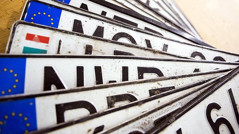Átalakulhatnak a rendszámok - megszólalt a Magyar Autóklub