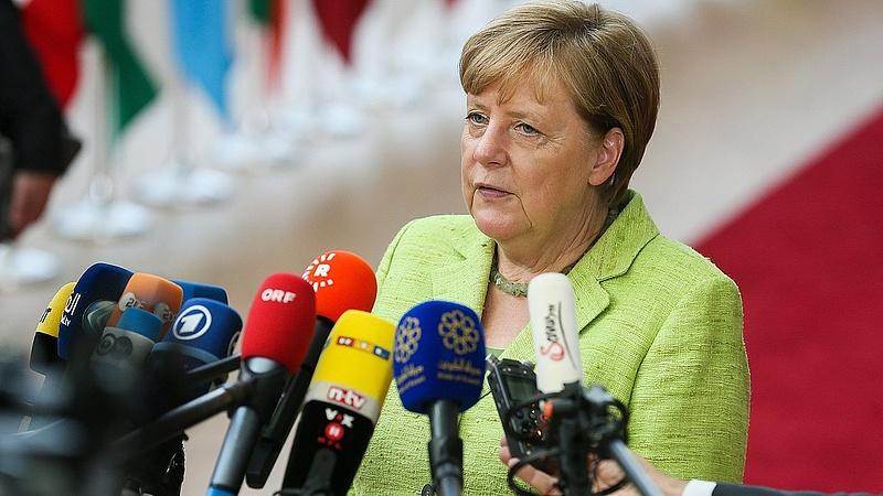 """""""Nem nagyon egyszerű"""" - Merkel Trumppal kapcsolatban beszélt"""