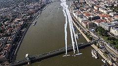 Káosz a Duna-parton - útlezárások Budapesten a Red Bull Air Race miatt