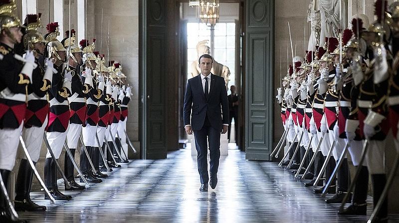 Csökkent Macron népszerűsége