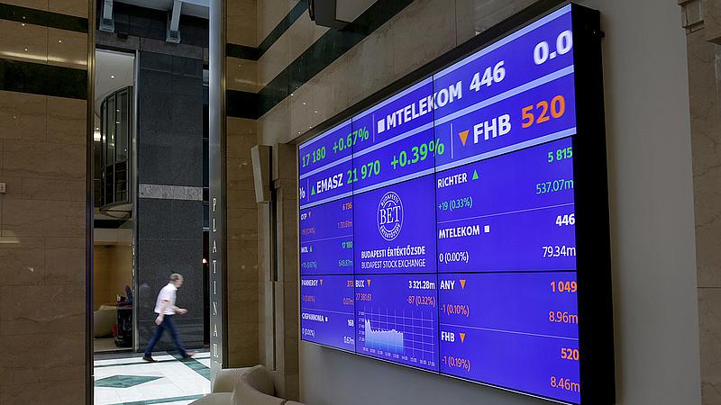 Közel 2 százalékot gyengült az OTP-részvény