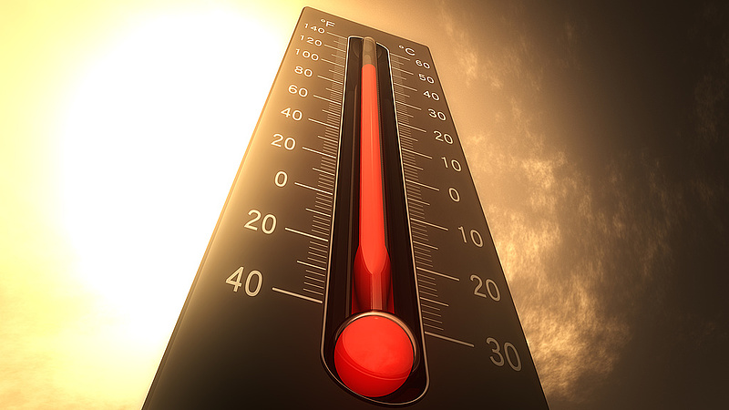 Brutális hőség Franciaországban: több mint 45 fokot mértek