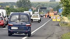 Útlezárás, terelés az M3-as autópályán