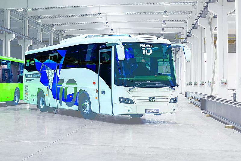 Újít a Volán - száz új magyar busz áll forgalomba