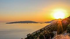 Olyan hőség lett Horvátországban, hogy a szél is csak a levegőt forrósította