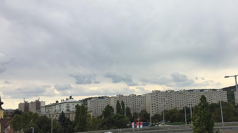Budapest környékén is lecsaphat a jég - időjárási előrejelzés