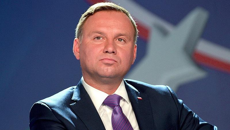 Amerikai együttműködésről tárgyal a lengyel államfő