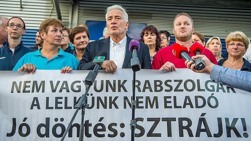 Tesco-sztrájk: A szakszervezetek elégedettek (bővített)