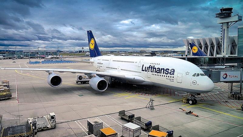 Sztrájkolnak a Lufthansa-dolgozók