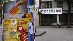 Óriási tüntetés volt Barcelonában