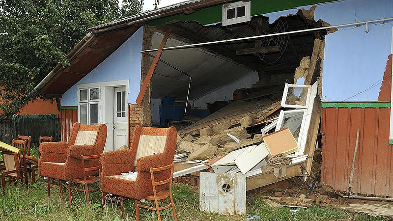 Hétvégi viharok: kétmilliárd forintnyi lehet a kár