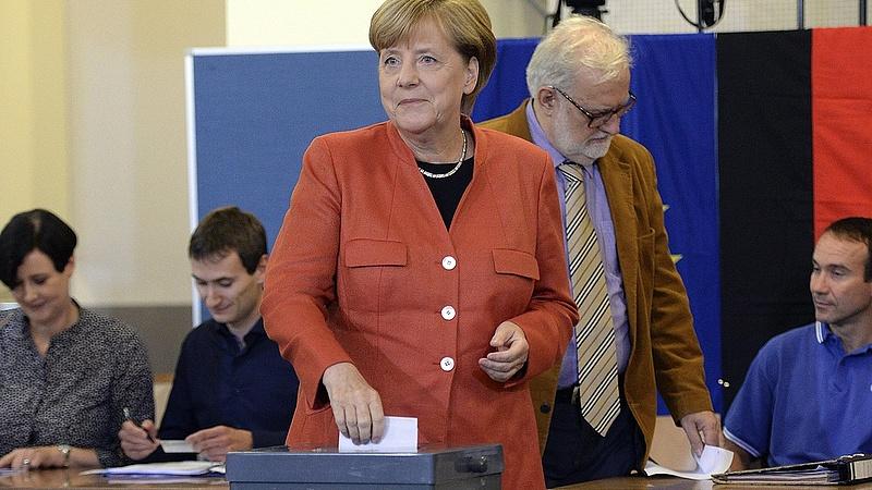 Német választás - délután kettőig a szavazók több mint 40 százaléka voksolt