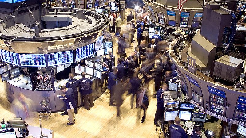 Ijedtség a Wall Streeten