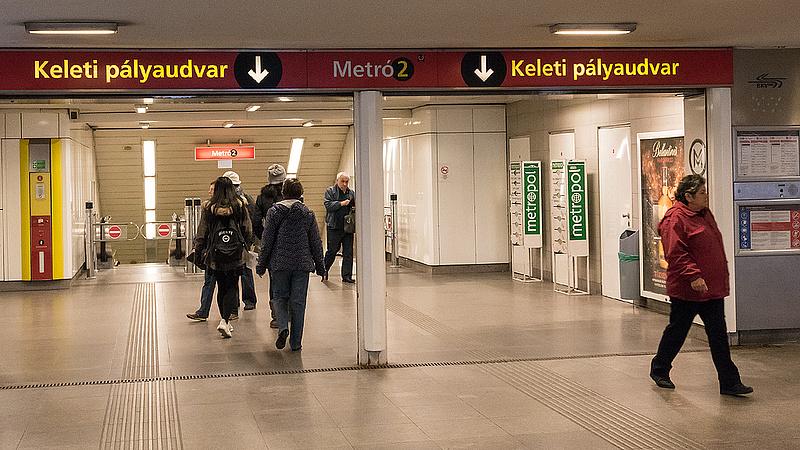 Baleset miatt nem járt a kettes metró