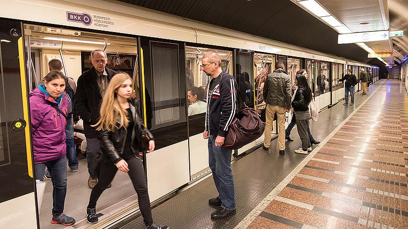 Éjszakába nyúlóan közlekednek a metrók Budapesten