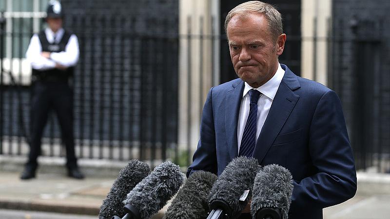 Élesen bírálta Lengyelországot az Európai Tanács elnöke
