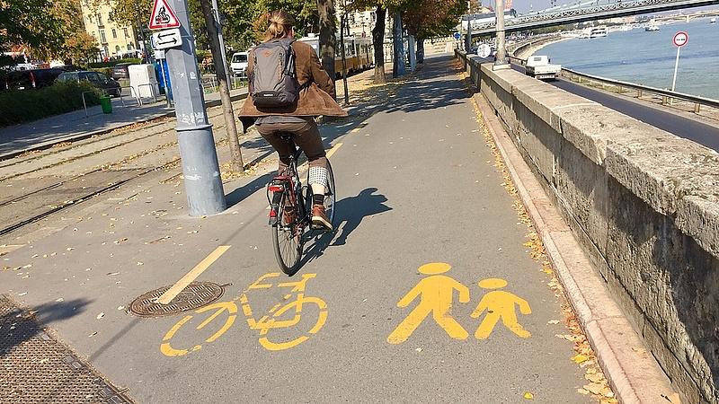 Nagyot fejődhet a budapesti kerékpáros infrastruktúra