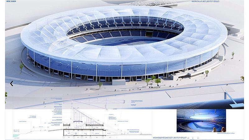 Új stadion épül Budapesten - megjelent a kivitelezési tender