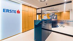 Lefeleződött az Erste Bank adózás utáni nyeresége