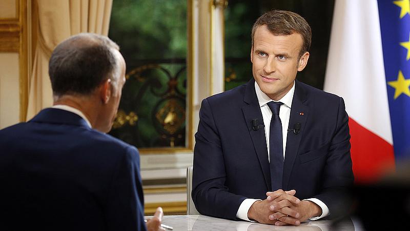 Nagy változásokról beszélt Macron