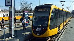 Új villamosok állnak forgalomba Budapesten