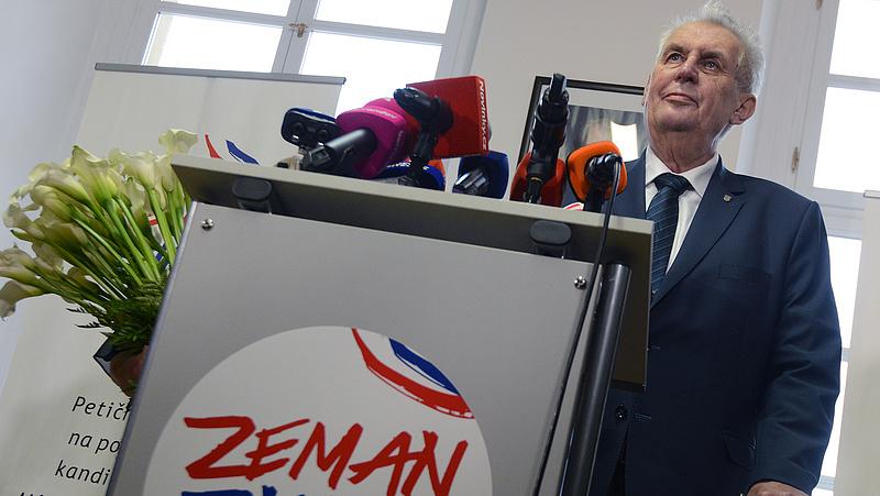 Zeman újra indul a januári cseh elnökválasztáson