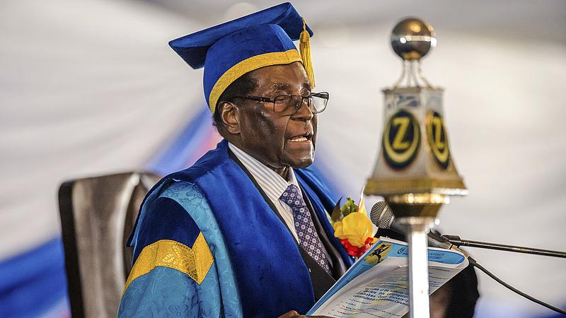 Minden hatalmát elvesztette a zimbabwei elnök