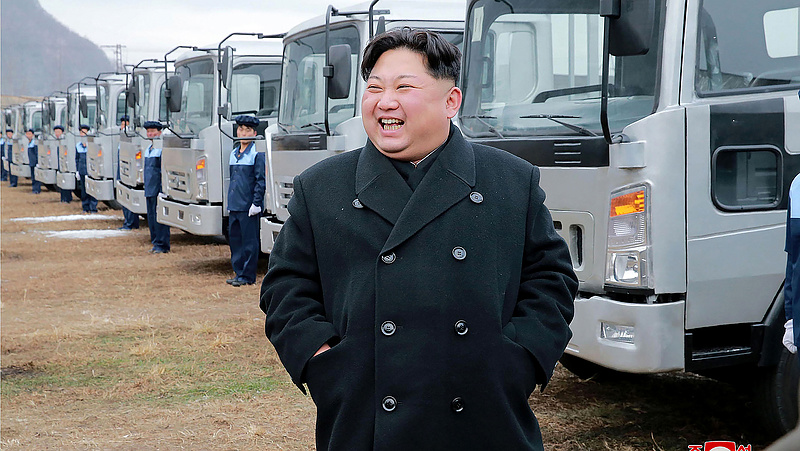 Kim Dzsongun elhagyta Észak-Koreát