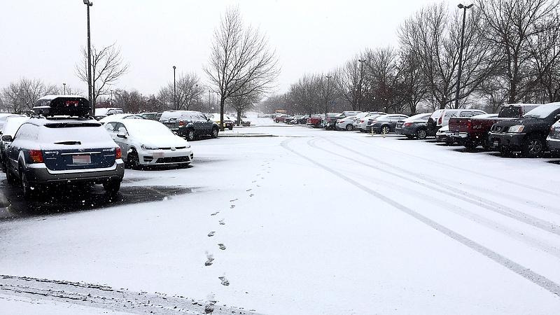 Nyugatról érkezik a havazás