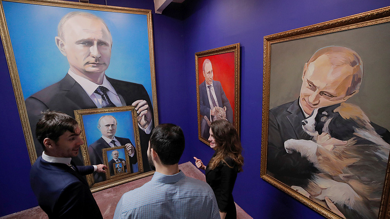 Putyin üzent