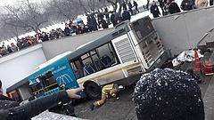 Többeket halálra gázolt egy aluljáróba hajtó busz Moszkvában