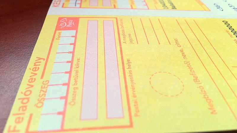 Tarol a sárga csekk ellenfele a postákon