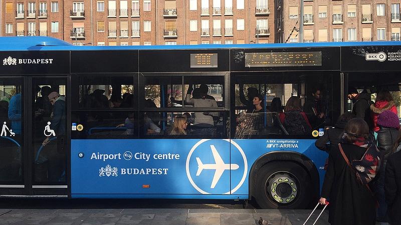 Megbírságolták a BKK-t a reptéri jegyek miatt