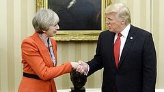 Nagyhatalmak: jövő héten egyeztet Trump és May