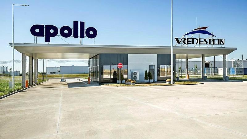 Új mérföldkőhöz érkezett az Apollo Tyres magyar gyára