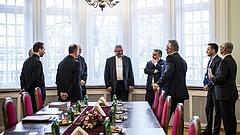 Orbán Viktor a katolikus egyház vezetőivel tárgyalt