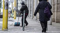 Érkezik a havazás - Budapesten 100 kilométeres szélről ír az OMSZ