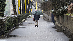 Időjárás: havas esővel, heves széllel folytatódik a hét