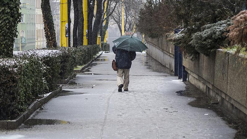 Időjárás: havazás lesz az év első hétvégéjén