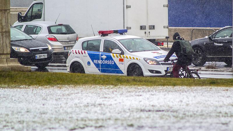 A havazás miatt üzent a rendőrség