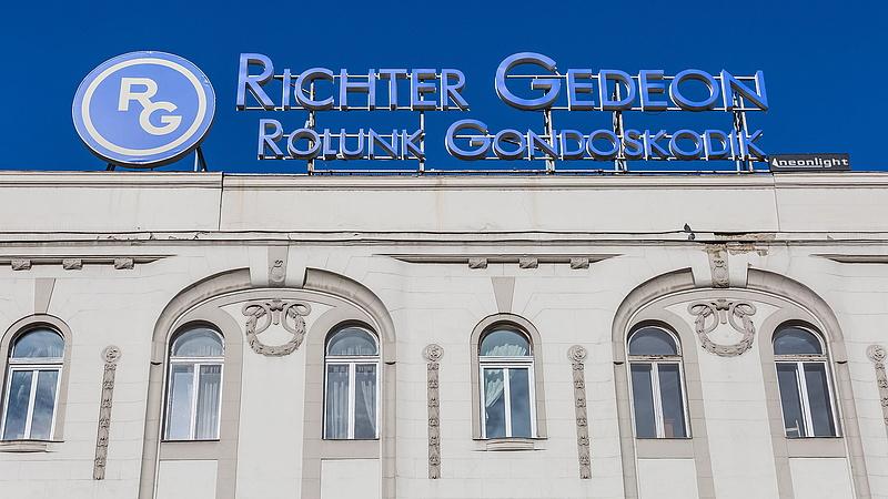 Osztalékfizetésről döntött a Richter