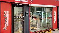 Eladó nélküli boltokkal támad az Auchan