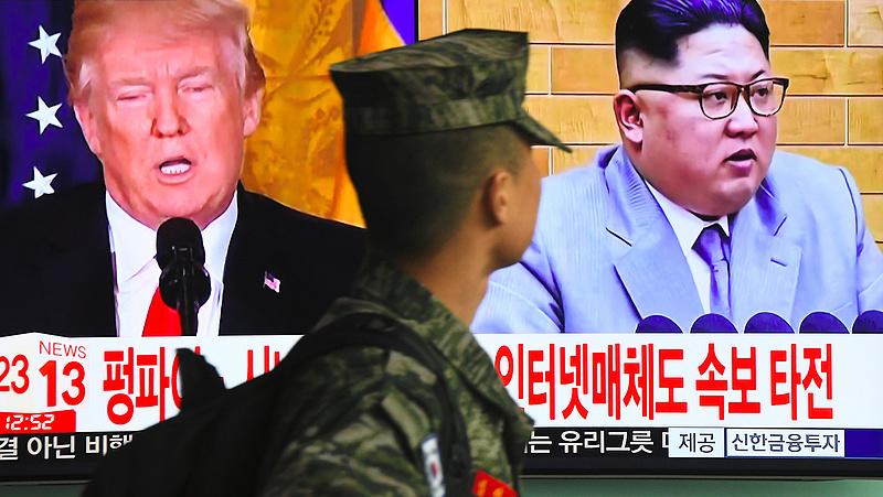 Váratlan üzenet: beszólt Észak-Korea Trumpnak
