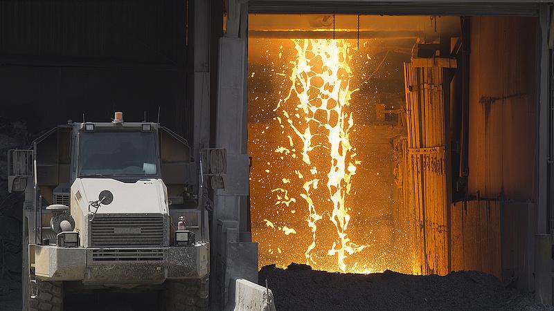 Enyhén erőre kapott az orosz ipari termelés